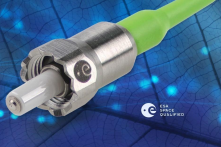ESA ESCC fiber optic connector SPACE GRADE mini AVIM DIAMOND