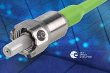 ESA ESCC fiber optic connector SPACE GRADE mini AVIM DIAMOND