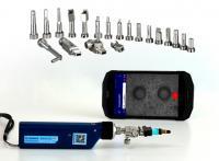 microscope fibre optique connecteur inspection nettoyage WIFI